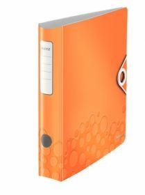 Папка-регистратор Leitz Active WOW 180° А4, 65 мм, РР, оранжевый