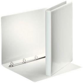 Папка на кольцах двухсторонняя Esselte, Панорама, А4, 30 мм, 4R, белый