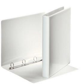 Папка на кольцах двухсторонняя Esselte, Панорама, А4, 38 мм, 4D, белый