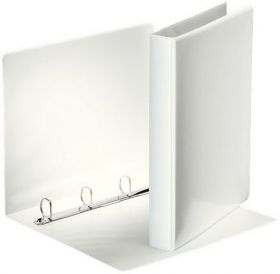 Папка на кольцах двухсторонняя Esselte, Панорама, А4, 44 мм, 4D, белый