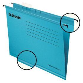 Папка подвесная А4 Esselte Standart, синяя, 25 шт