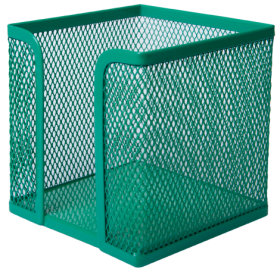 Бокс для бумаги металлический Buromax, зеленый