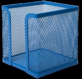 Бокс для бумаги металлический Buromax, синий