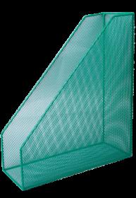 Лоток для бумаг вертикальный, зеленый