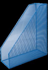 Лоток для бумаг вертикальный, синий