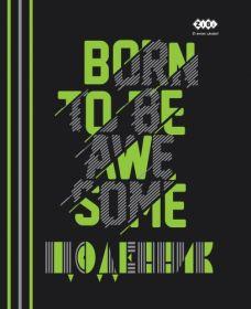 Дневник школьный BORN, A5+, 40 листов, интегральная обложка