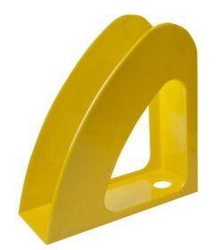 """Лоток для бумаг вертикальный """"Радуга"""", желтый"""
