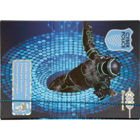 Папка для тетрадей ZiBi Art Effect CYBER POLICE, B5+