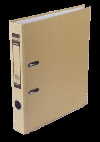 Папка-регистратор Buromax JOBMAX KRAFT А4, 50 мм, коричневый