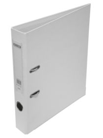 Папка-регистратор Buromax ELITE А4, 50 мм, РР, белый