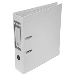 Папка-регистратор Buromax LUX А4, 50 мм, РР, белый