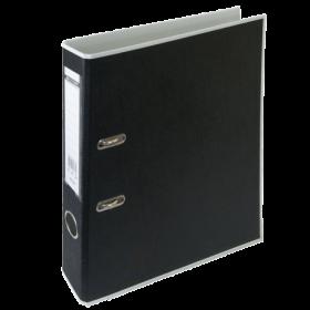 Папка-регистратор Buromax STYLE А4, 50 мм, РР, белый/черный