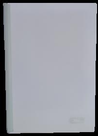 Скоросшиватель с планкой Buromax А4, 10 мм, РР, белый