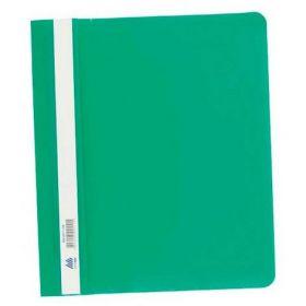 Скоросшиватель Buromax А5, PP, зелёный (распродажа)
