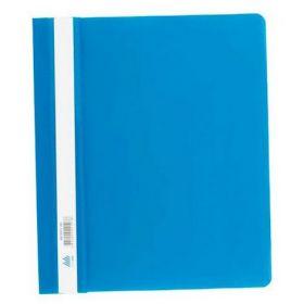 Скоросшиватель Buromax А5, PP, синий (распродажа)