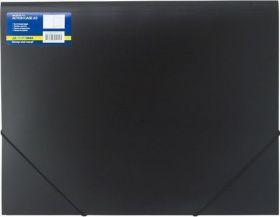 Папка на резинках Buromax PROFESSIONAL А3, 550 мкм, черная (распродажа)