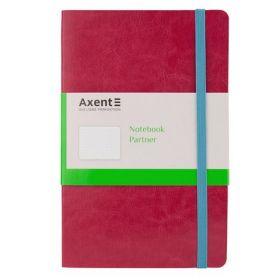 Книга записная Ахеnt Partner, 12,5х19,5 см, точка, розовая