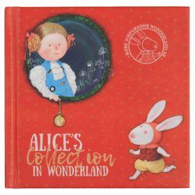 Книга записная Axent Gapchinska, 12,5х12,5 см, клетка, Alice