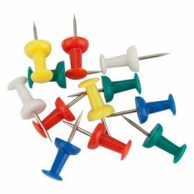 Кнопки-гвоздики цветные Axent, 50шт
