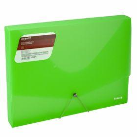 Папка на резинке Axent А4, 800 мкм, зеленая