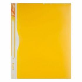 Папка-уголок Axent A4, 5 отделений, 180 мкм, желтая