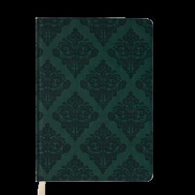 Ежедневник датированный 2019 Buromax Design CASTELLO VINTAGE, темно-зелёный, А5