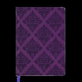 Ежедневник датированный 2019 Buromax Design CASTELLO VINTAGE, вишневый, А5