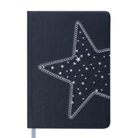 Ежедневник датированный 2019 Buromax Design STELLA, черный, A6