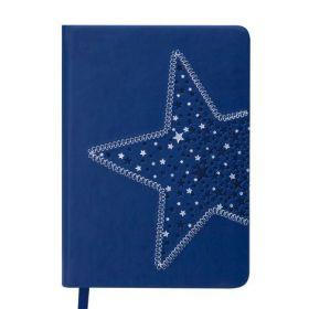 Ежедневник датированный 2019 Buromax Design STELLA, синий, A6