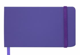 Еженедельник датированный 2019 Buromax Карманный TOUCH ME, фиолетовый, 9.5х17 см