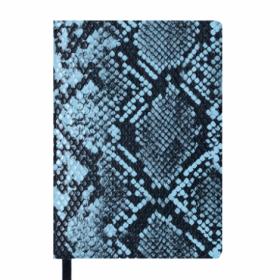 Ежедневник датированный 2019 Buromax Design WILD soft, голубой, А6