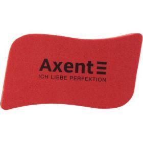 Губка магнитная для досок Axent Wave, красная