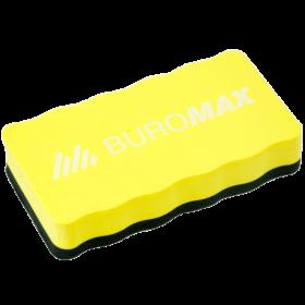 Губка магнитная для досок BUROMAX, желтая