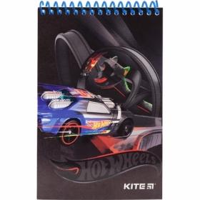 Блокнот Kite Hot Wheels, А6, 48 листов, без линовки