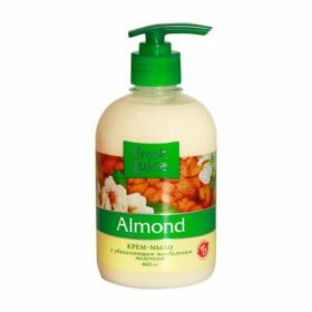 Крем-мыло жидкое FRESH JUICE Almond с увлажняющим миндальным молочком, 460 мл
