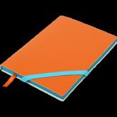 Блокнот Buromax LOLLIPOP, А5,  96 листов, линия, оранжевый