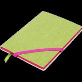 Блокнот Buromax LOLLIPOP, А5, 96 листов, линия, салатовый