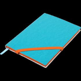 Блокнот Buromax LOLLIPOP, А5, 96 листов, без линовки, голубой
