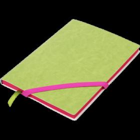 Блокнот Buromax LOLLIPOP, А5, 96 листов, без линовки, салатовый