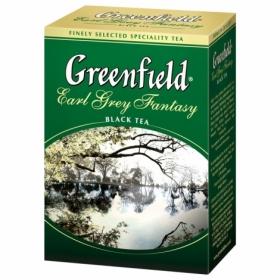 Чай черный листовой Greenfield EARL GREY FANTASY, 100 г