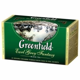 Чай черный в пакетиках Greenfield EARL GREY FANTASY, 25 шт х 2 г