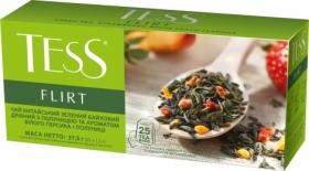 Чай зелёный в пакетиках Tess FLIRT, 25 шт х 1.5 г