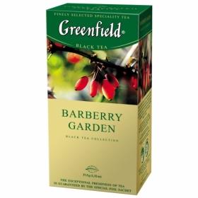 Чай черный в пакетиках Greenfield BARBERRY GARDEN, 25 пакетиков