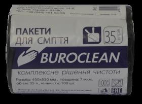 Пакеты для мусора BuroClean ECO 35 л, 100 шт