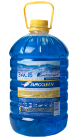Средство для мытья стекол Buroclean Морская свежесть, 5 л