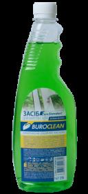 Средство для мытья стекол Buroclean Зеленое яблоко, сменная бутылка, 500 мл
