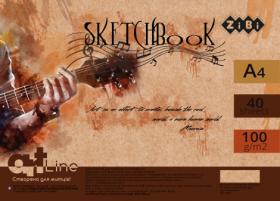 Скетчбук ZiBi ART Line А4, 40 листов