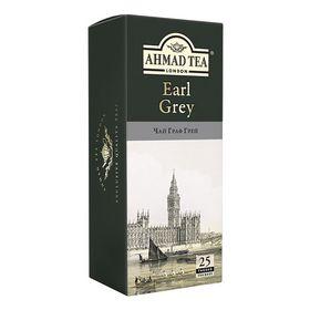 Чай черный в пакетиках Ahmad Граф Грей, 25 пакетиков
