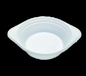 Миска одноразовая Buroclean 500 мл, белая, 100 шт