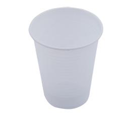 Стакан одноразовый Buroclean термостойкий 200 мл, белый, 100 шт
